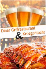 Diner Grillrestaurant met kroegentocht in Hasselt