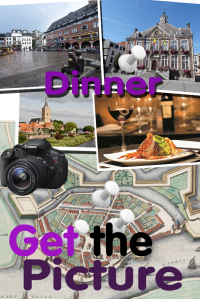 Get the picture fotopuzzeltocht Dinerspel in Hasselt