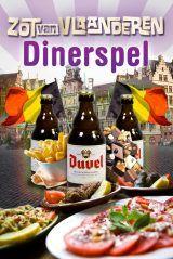 Het Zot van Vlaanderen Dinerspel in Hasselt