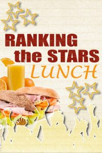 Ranking the stars Lunch quiz in Hasselt