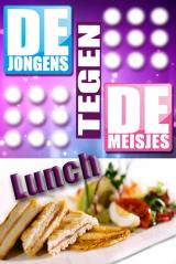 Jongens tegen de meisjes lunchquiz in Hasselt