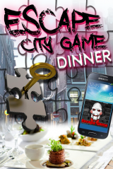 Escape City Tablet Dinner Game in Hasselt